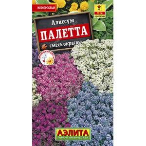 Семена алиссума Палетта смесь окрасок