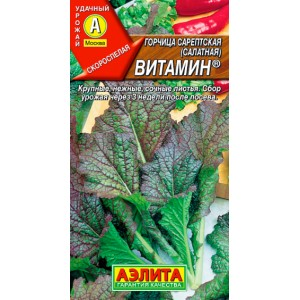 Горчица салатная Витамин | Семена