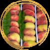 Саженец персика Инжирный Султан: фото и описание