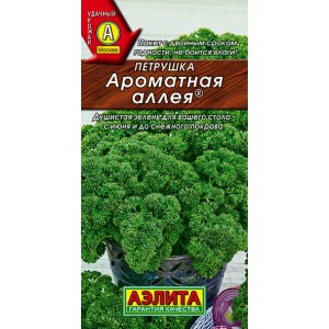 Семена петрушки кудрявой Ароматная аллея