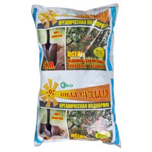 Подкормка для кустарников, лиственных и плодовых 50л