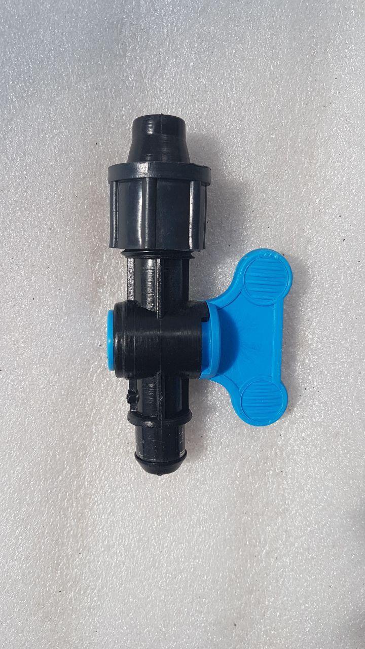Кран стартовый с уплотнительной резинкой для капельного полива: фото и описание