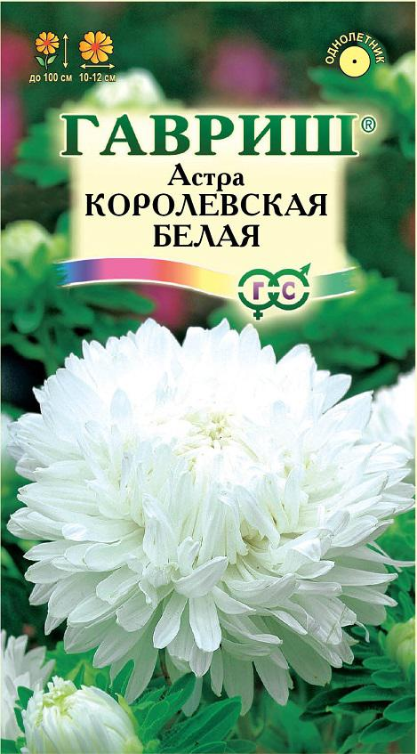 Семена астры Королевская белая ( Г )