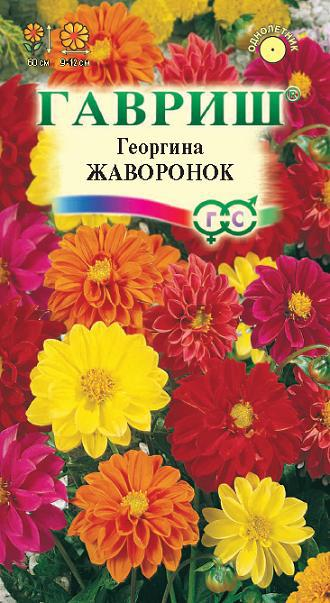 Семена георгин Жаворонок смесь ( Г )