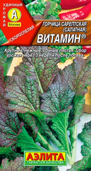 Горчица салатная Витамин
