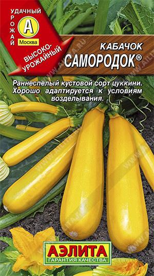 Семена кабачка Самородок Цукини