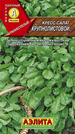 Семена кресс-салата Крупнолистовой