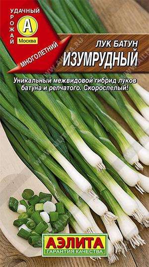 Семена лука Изумрудный батун