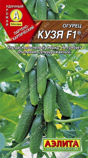 Семена огурцов Кузя