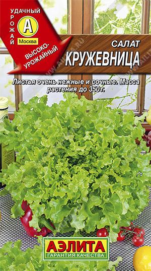 Семена салата Кружевница листовой