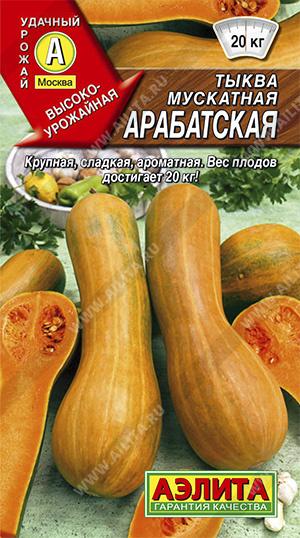 Семена тыквы Арабатская мускатная
