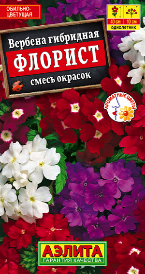 Семена вербены Флорист гибридная смесь
